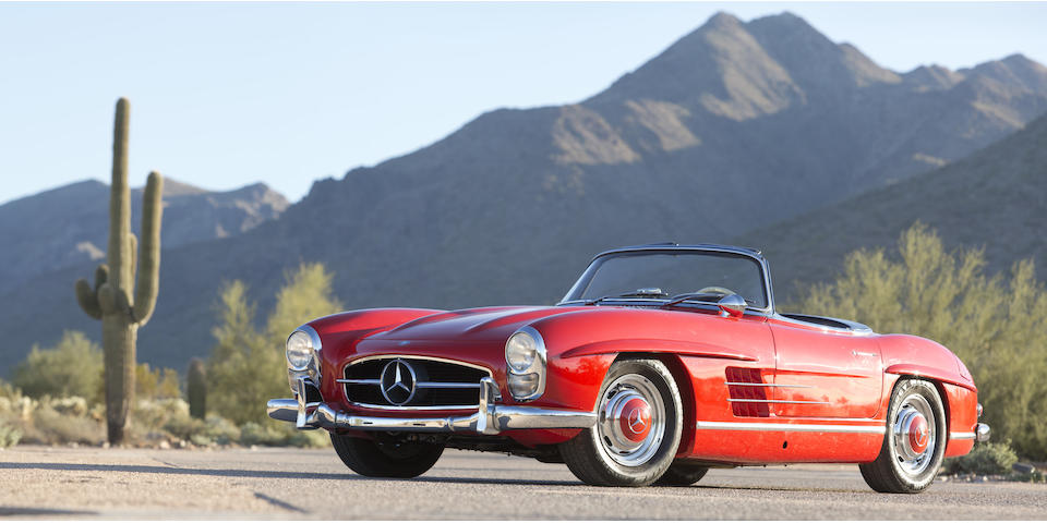 1962 MERCEDES-BENZ  300SL ROADSTER  Chassis no. 198.042.10.003091 Engine no. 198.982.10.000052