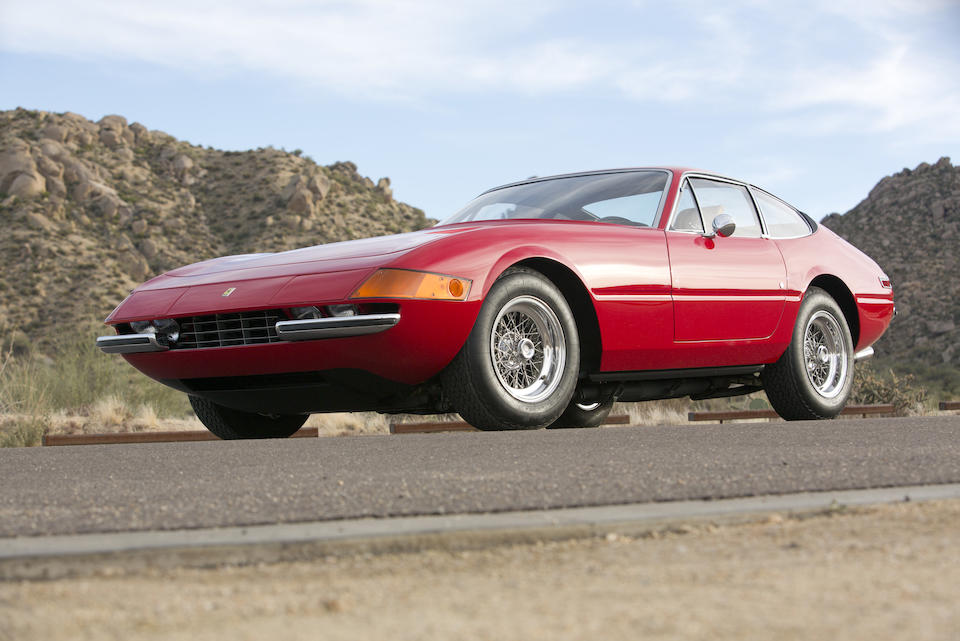 1971 FERRARI  365 GTB/4 DAYTONA BERLINETTA  Chassis no. 14219 Engine no. B942