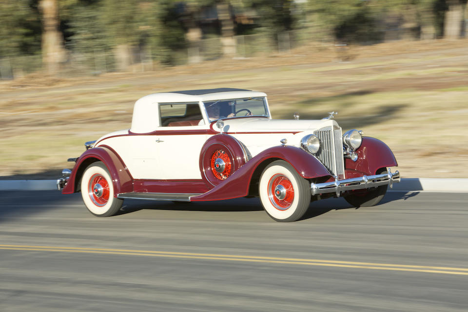 1934 PACKARD EIGHT 1101 COUPE  Chassis no. 376770 Engine no. 376882