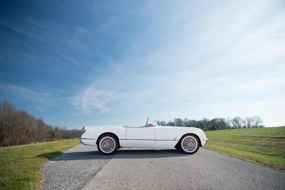 1954 Chevrolet Corvette  Chassis no. E54S004622 Engine no. 0754423F54Y