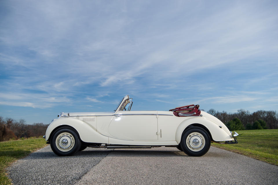 1950 Riley RM Drophead Coupe  Chassis no. 61S/7987 Engine no. 6598
