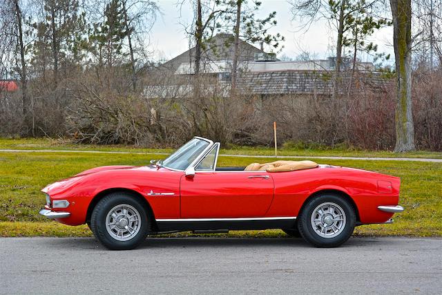 Bonhams 1967 Fiat Dino Spider Chassis No 135as0000438 Engine No