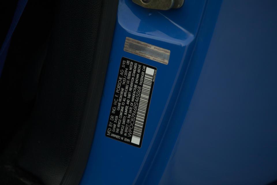 1993 PORSCHE 911 STROSEK MEGA SPEEDSTERVIN. WP0CB2966RS465068