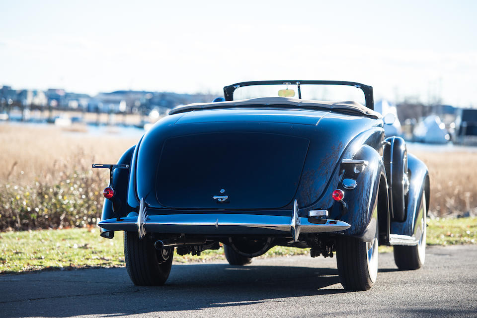 1938 LINCOLN MODEL K ROADSTER  Chassis no. K9059