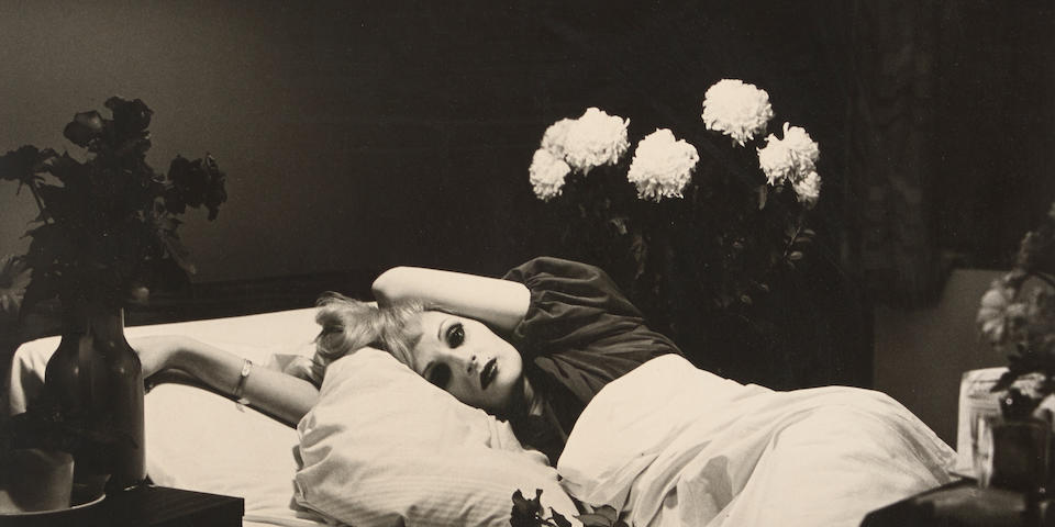 Peter Hujar (1934-1987); Candy Darling on Her Deathbed;
