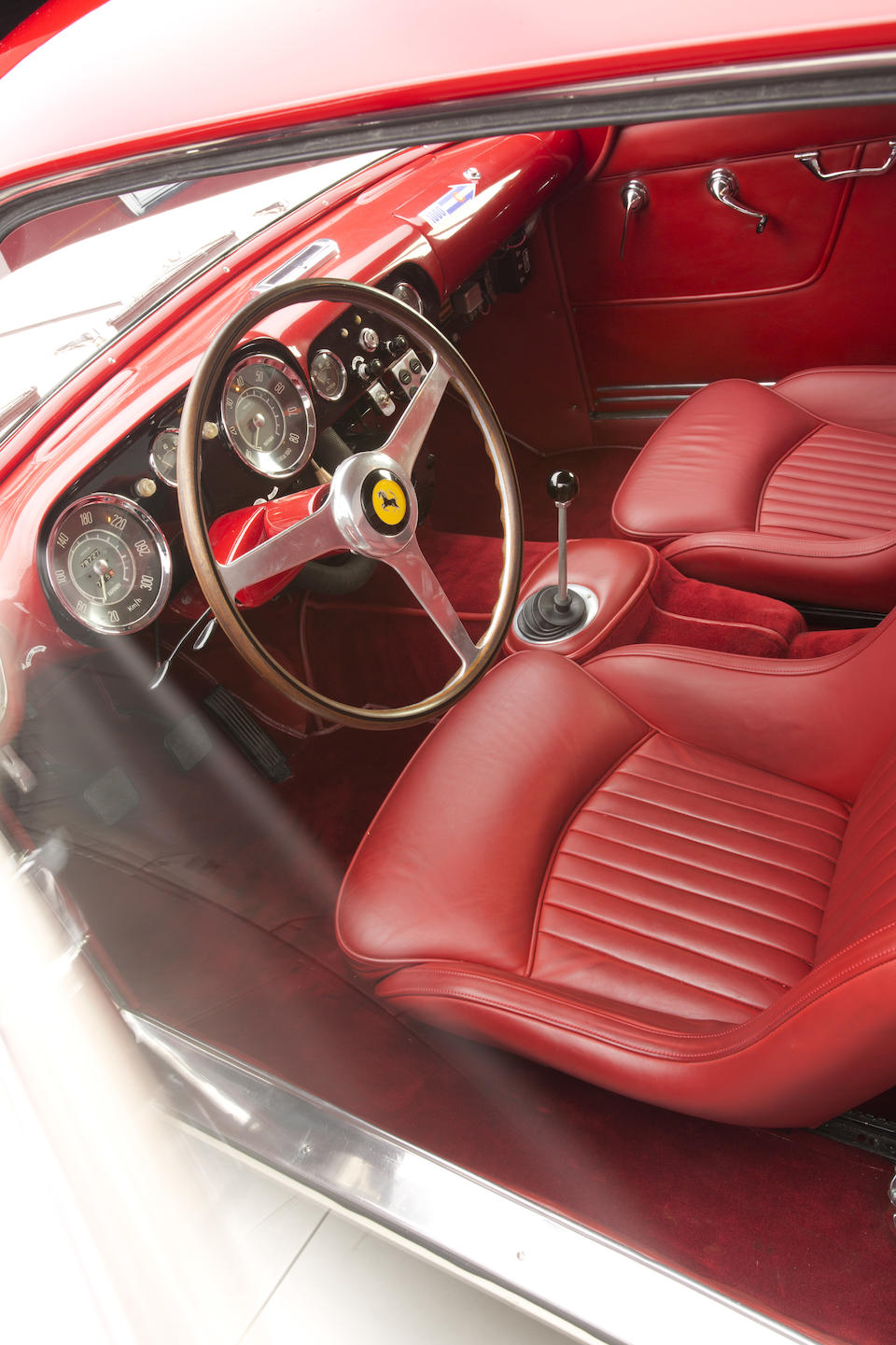 1956 FERRARI  250 GT ALLOY COUPE  Chassis no. 0609GT Engine no. 0609GT