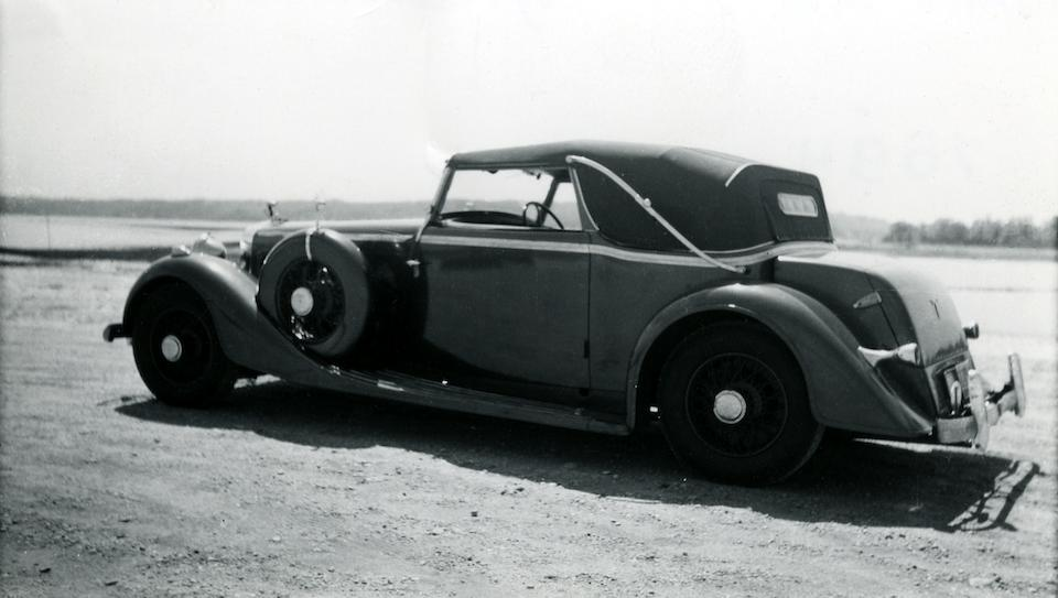 1935 HISPANO-SUIZA  K6 CABRIOLET  Chassis no. 16014 Engine no. 333022