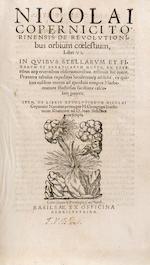 COPERNICUS, NICOLAUS. 1473-1543. De revolutionibus orbium coelestium. Basel: Heinrich Petri, 1566.