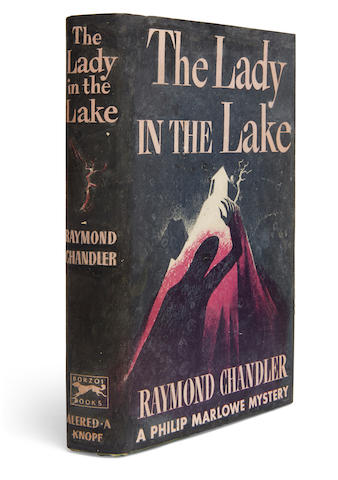 CHANDLER, RAYMOND. 1888-1959. 1. The Lady in the Lake. New York: Alfred A. Knopf, 1943.