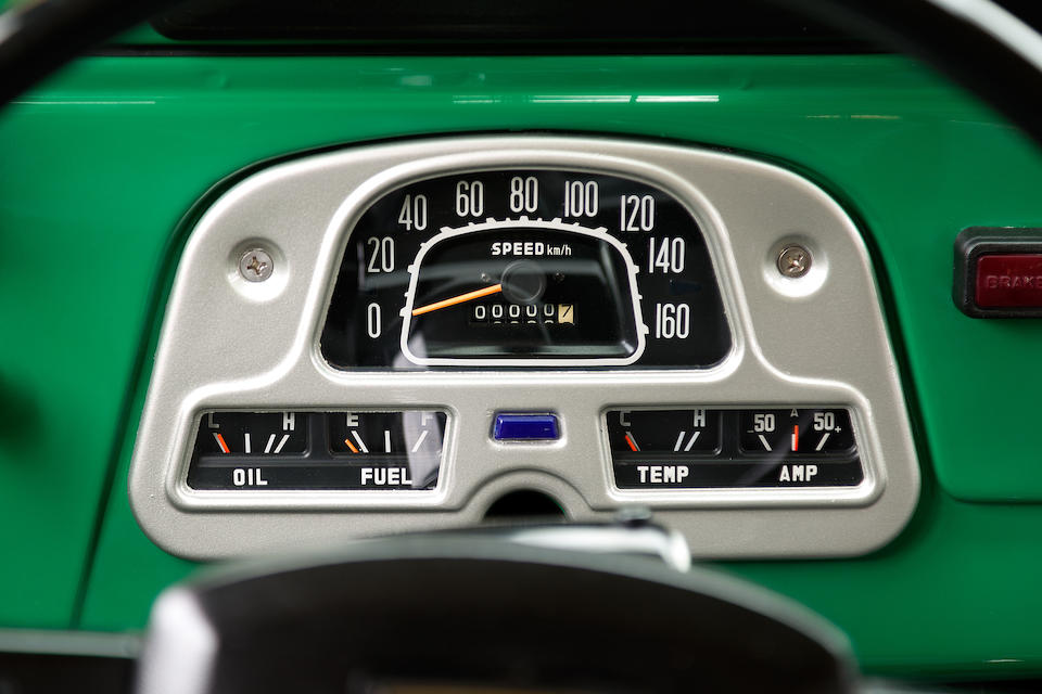 1980 Toyota Land Cruiser FJ43  Chassis no. FJ43-65659 Engine no. 2F415992