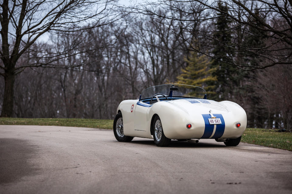 <B>1952 CUNNINGHAM C-3<br /></B><BR />Chassis no. 5236