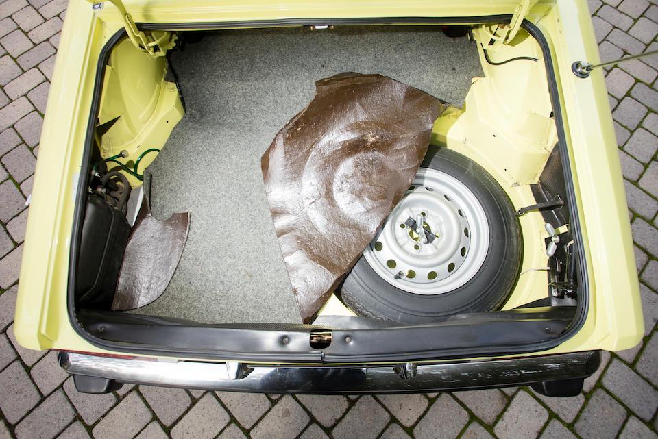<B>1973 ALFA ROMEO 2000 SPIDER VELOCE<br /></B><BR />Chassis no. AR3041888