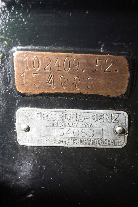 <i>Delivered new to Embiricos</i><BR /><B>1937 MERCEDES-BENZ  540K CABRIOLET A<BR />Coachwork by Sindelfingen<br /></B><BR />Chassis no. 154083<BR />Engine no. 154083
