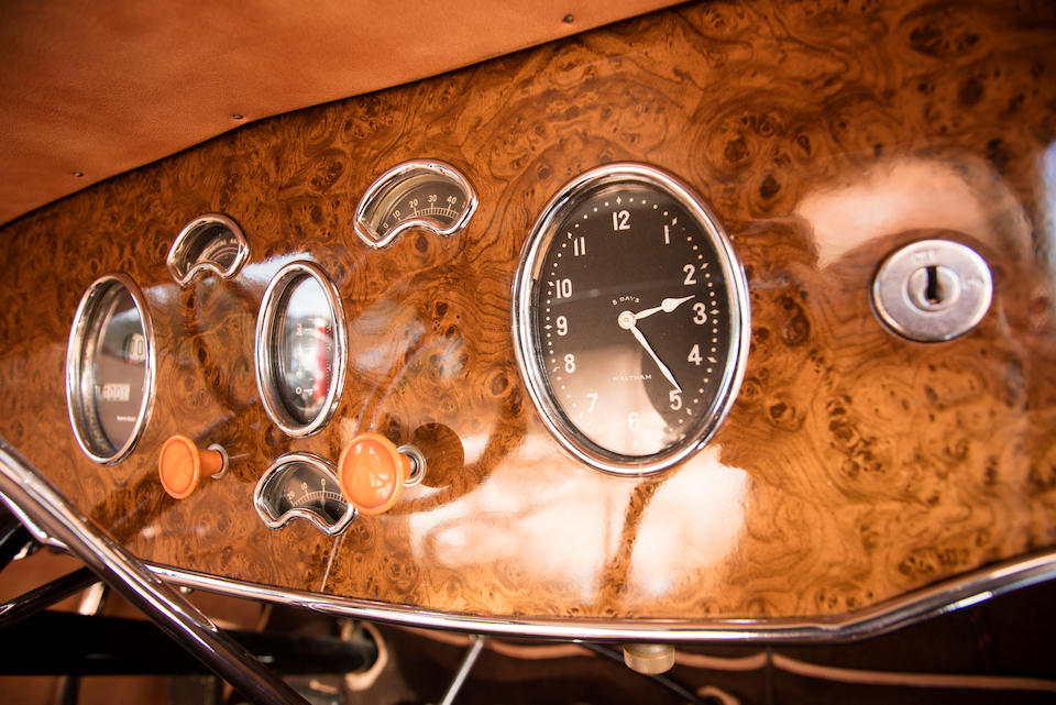 <B>1930 PACKARD MODEL 745 CONVERTIBLE SEDAN<BR />Coachwork by Dietrich<br /></B><BR />Chassis no. 179463<BR />Engine no. 181192