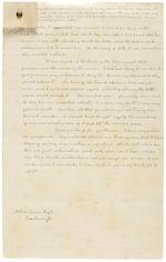 """DOYLE, SIR ARTHUR CONAN. 1859-1930. Autograph Manuscript Signed (""""Arthur Conan Doyle""""), entitled """"The Prisoner's Defence,"""" 13 pp, 4to, Crowborough, East Sussex, c.1916,"""