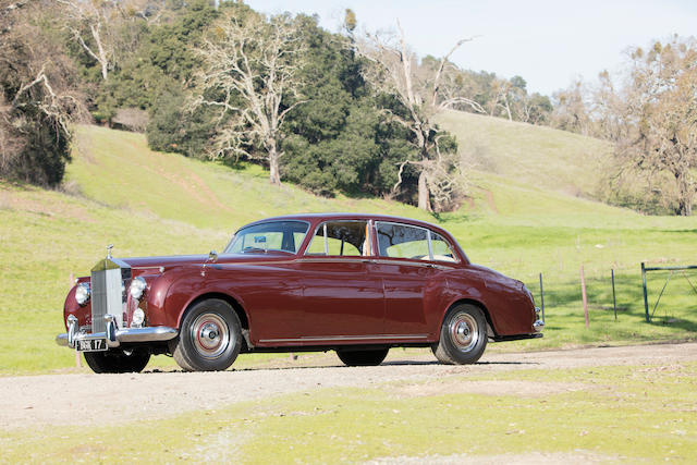 <B>1959 ROLLS-ROYCE SILVER CLOUD I SALOON<BR />Coachwork by James Young Ltd.<br /></B><BR />Chassis no. CLC 14