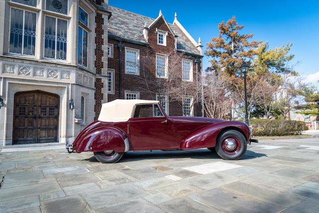 <B>1948 ALLARD M-SERIES DROPHEAD COUPE<br /></B><BR />Chassis no. 625