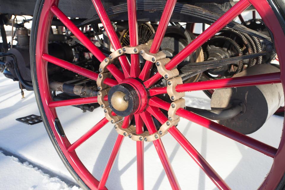 B 1896 Armstrong Phaeton Gasoline Electric Hybrid Br