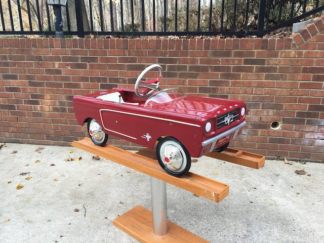 1966 Mustang Pedal Car by AMF