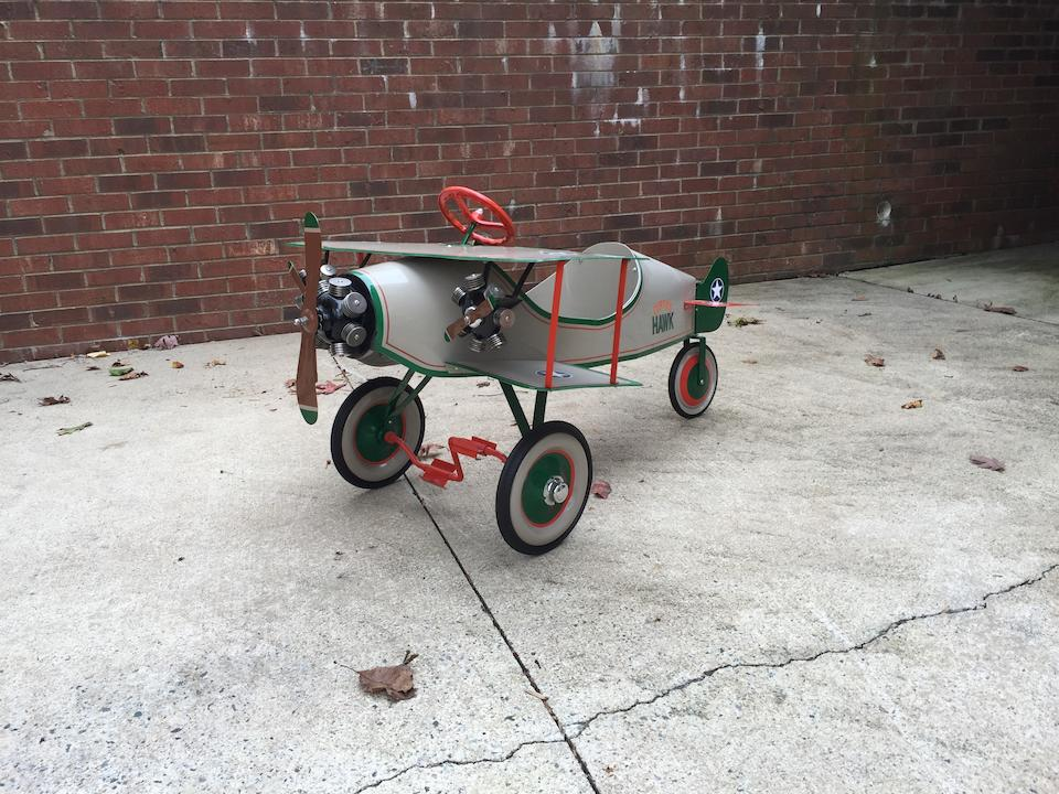 Curtiss Hawk Plane pedal car
