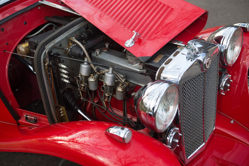 <B>1935 MG PA AIRLINE COUPE<BR />Coachwork by Carbodies<br /></B><BR />Chassis no. PA0835<BR />Engine no. 770A135P