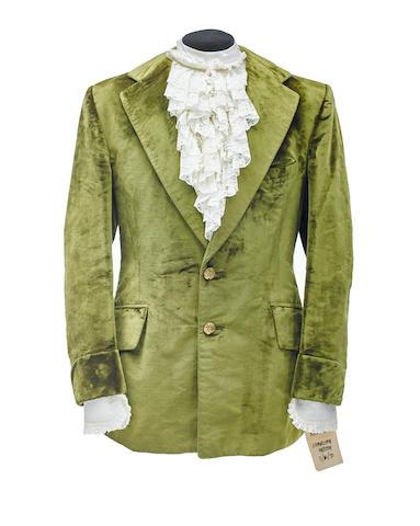 A Charlton Heston jacket and shirt from The Omega Man