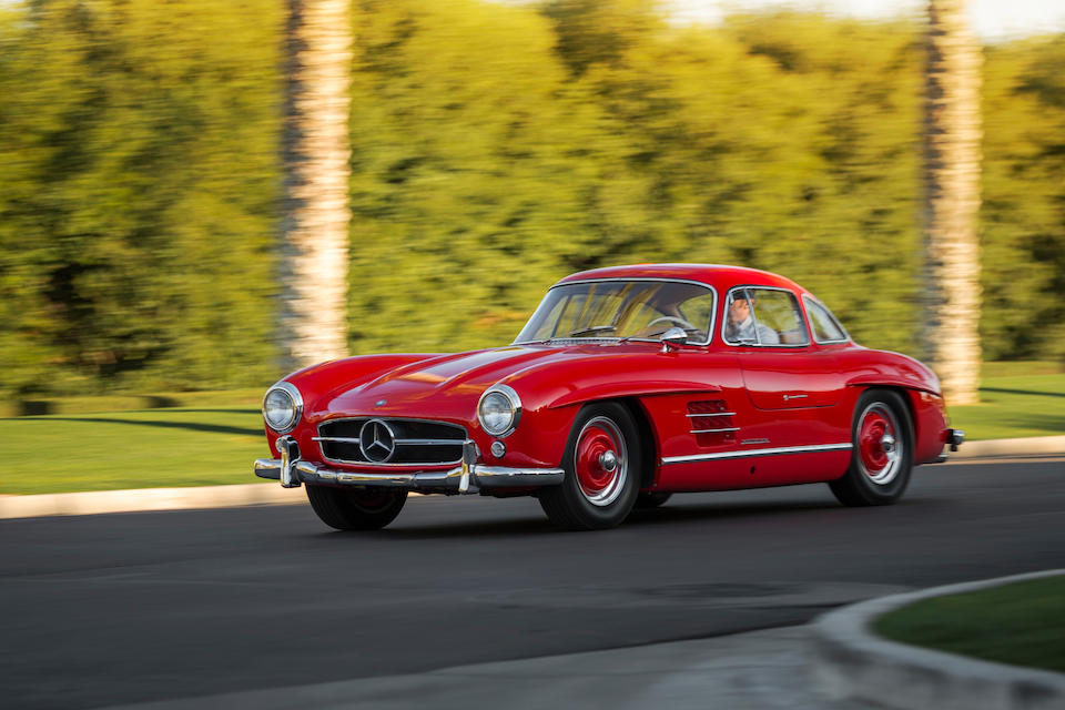 <i>From the Collection of the late Wade Carter</i><br /><b>1955 MERCEDES-BENZ 300SL GULLWING COUPE  </b><br />Chassis no. 198.040.5500587 <br />Engine no. 198.980.7500496