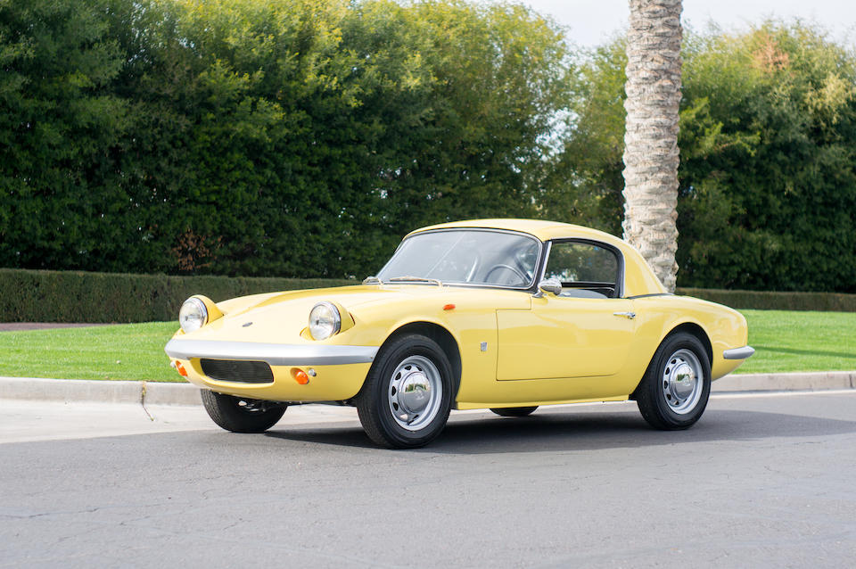 <B>1965 LOTUS ELAN S2 WITH FACTORY HARD TOP<br /></B><BR />Chassis no. 26/4530<BR />Engine no. LP3132