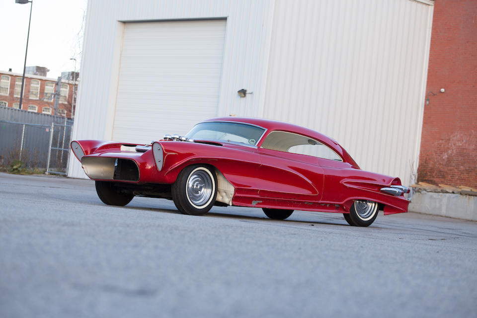"<i>Gene Howard built winner of eight Best in Shows and over 60 trophies</i><br /><BR /><B>1950 BUICK ""TRULY RARE""</B>"
