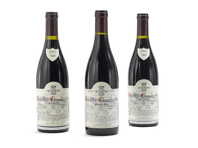 Griotte Chambertin 1996, Claude Dugat (1) Griotte Chambertin 2002, Claude Dugat (2)