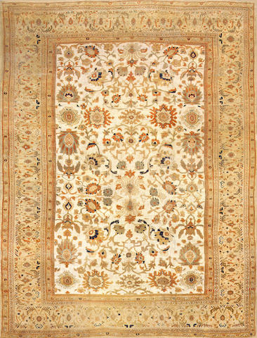 A Zeigler Sultanabad carpet from the Estate of Sigmund Freud Central Persia size approximately 12ft. 9in. x 16ft. 7in.