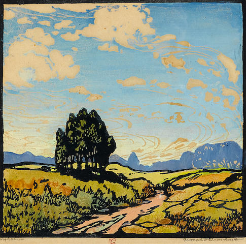 Frances Hammell Gearhart (1869-1958); High Skies;