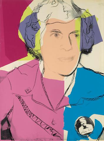 Andy Warhol (1928-1987); Lillian Carter;