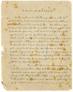 "DOYLE, SIR ARTHUR CONAN. 1859-1930. Autograph Manuscript Signed (""Conan Doyle""), entitled ""The Adventure of the Greek Interpreter,"" 34 pp, 4to, South Norwood, London, c.1893,"