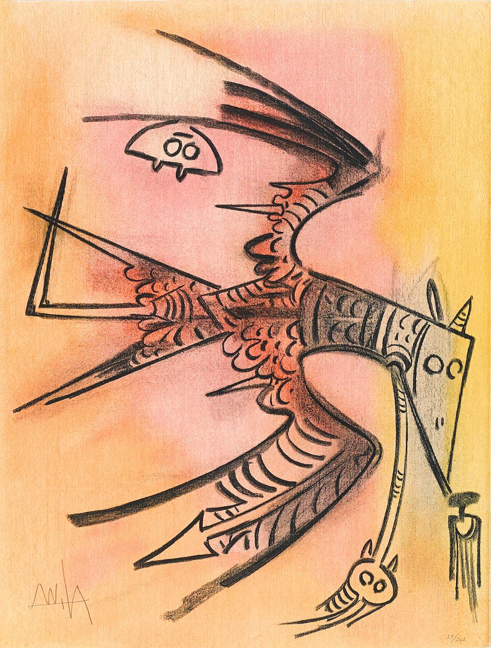 Wifredo Lam (1902-1982); Pleni Luna;