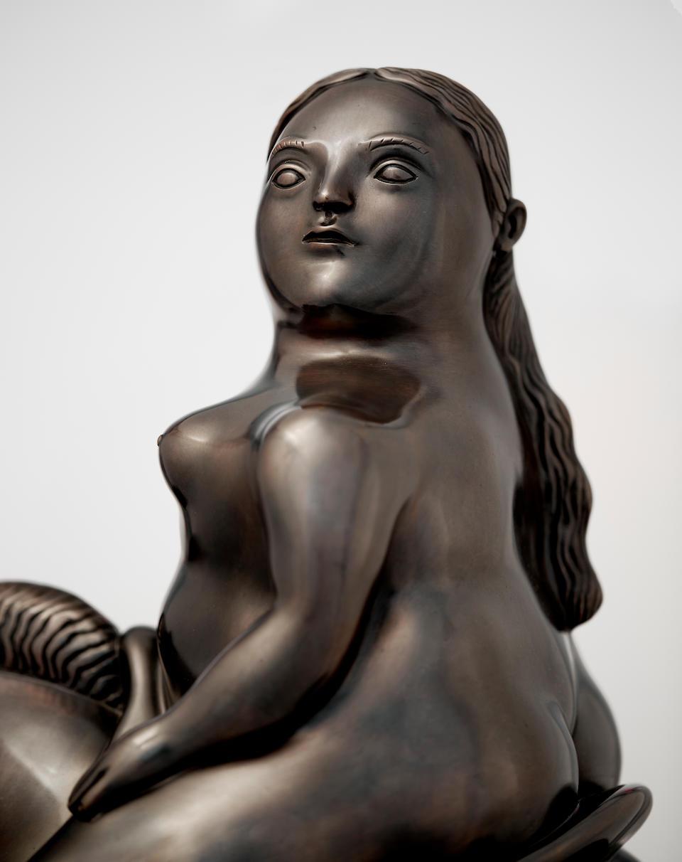 FERNANDO BOTERO (b. 1932) Woman on a Horse, 1993