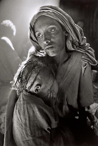 Sebastião Salgado (born 1944); Children's Ward in the Korem Refugee Camp, Ethiopia;
