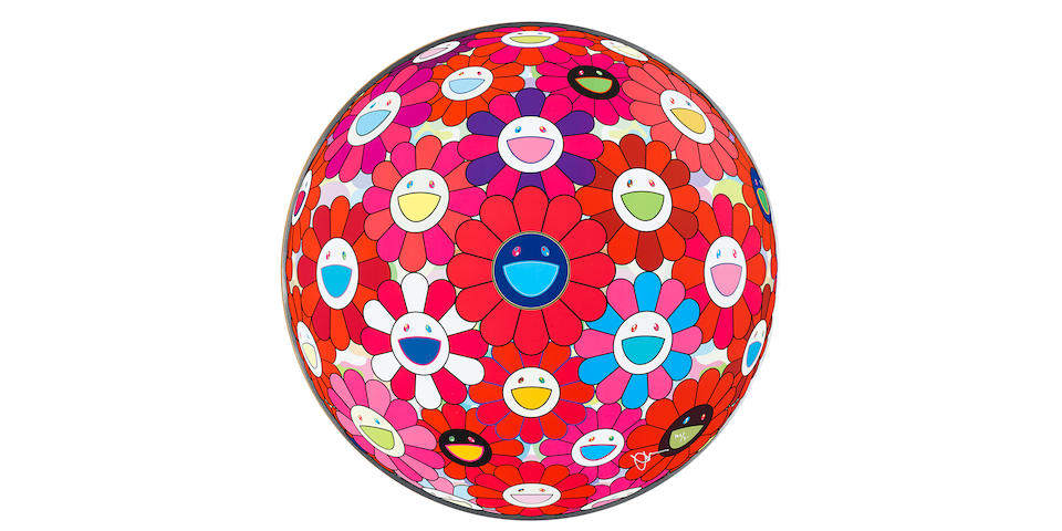 Takashi Murakami (born 1962); Comprehending the 51st Dimension (Flower Ball 3D); Hey! You! Do you know what I feel? (Flower Ball 3D); (2)