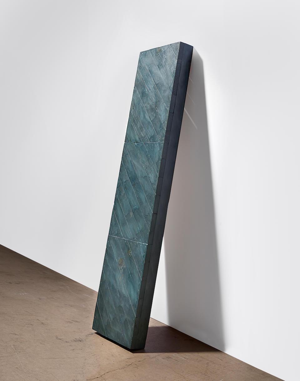 JOHN MCCRACKEN (1934-2011) Untitled (Plank), circa 1970