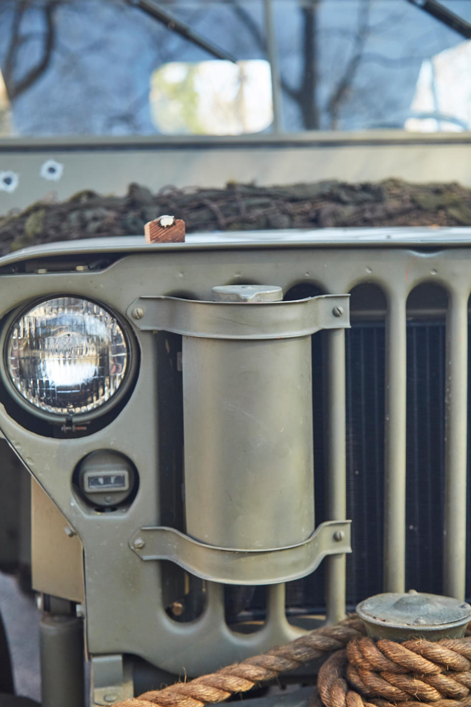 <B>1943 WILLYS JEEP WITH TRAILER<br /></B><BR />Chassis no. 288563