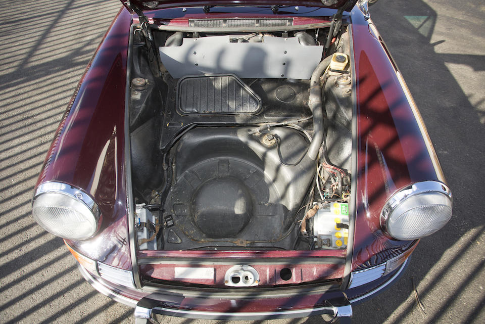 <B>1969 Porsche 911E Coupe<BR />Coachwork by Karmann</B><BR />Chassis no. 9119220161<BR />Engine no. 686808 (see text)
