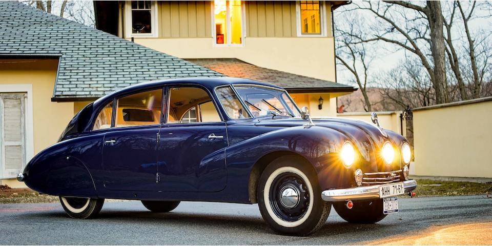 <B>1950 TATRA T87<br /></B><BR />Chassis no. 79233<BR />Engine no. 223·338