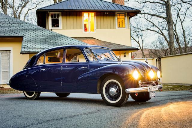 <B>1950 TATRA T87<br /></B><BR />Chassis no. 79233<BR />Engine no. 223&#183;338