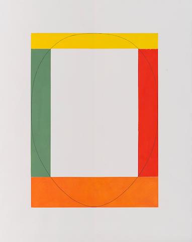 ROBERT MANGOLD (b. 1937) Untitled, 1984
