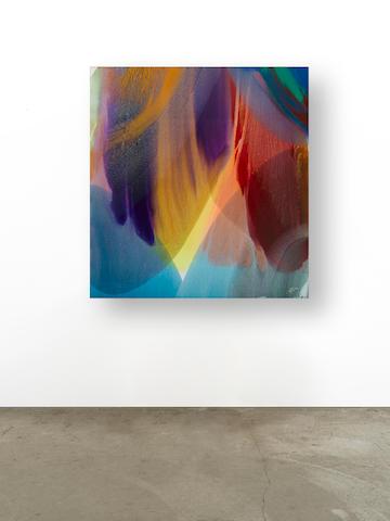 PAUL JENKINS (1923-2012) Phenomena Place of Three Rivers, 1978