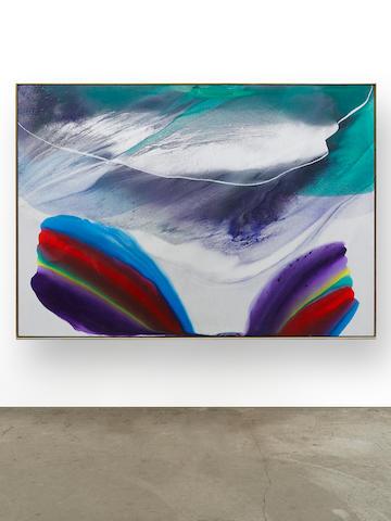 PAUL JENKINS (1923-2012) Phenomena Mass Drift, Anatomy of a Cloud, 1978-79