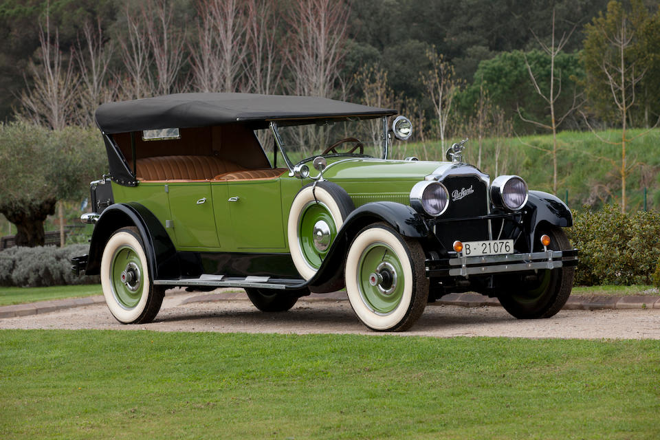 <B>1926 PACKARD EIGHT 243 7-PASSENGER TOURING</B><BR />Chassis no. 200346<BR />Engine no. 210784