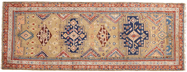 A Serab runner Northwest Persia size approximately 4ft. x 10ft. 4in.