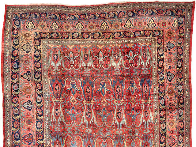 A Bidjar carpet  Northwest Persia size approximately 12ft. 2in. x 18ft. 3in.