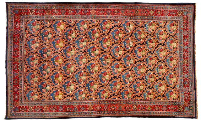 A Bidjar long carpet Northwest Persia size approximately 11ft. x 17ft. 10in.